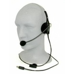 Headset, Lightweight, Single Sided, Dynamic Mic, 3.5mm Stereo Plug