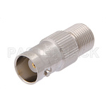 50 Ohm BNC Female to 75 Ohm F Female Adapter