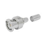 BNC Male Straight Plug connector by Times for the LMR-240 cable series