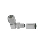 SMA Male Right Angle connector by Times for the LMR-240 cable series
