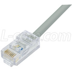 Cat5E RJ11 2-Pair Voice and Data Patch Cable – Color Grey
