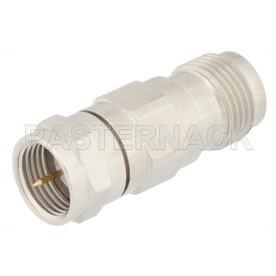 75 Ohm TNC Female to 75 Ohm F Male Adapter